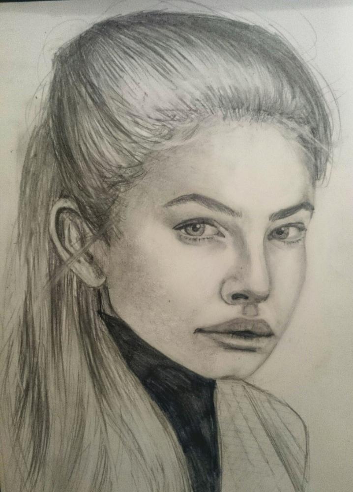 Thylane Blondeau by Tamzine